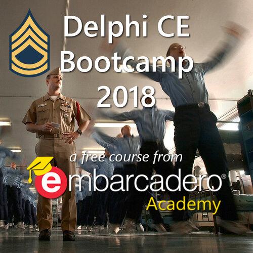 Delphi CE Bootcamp 2018